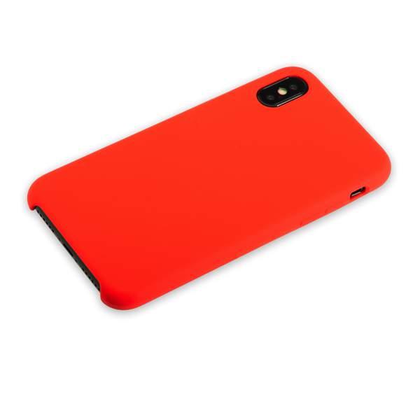 Чехол-накладка силиконовый Hoco Silicone Case для iPhone X (5.8) Красный