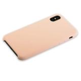 Чехол-накладка силиконовый Hoco Silicone Case для iPhone X (5.8) Розовый-песок