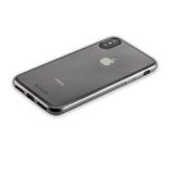 Чехол-накладка силикон Deppa Gel Plus Case D-85336 для iPhone X (5.8) 0.9 мм Черный матовый борт