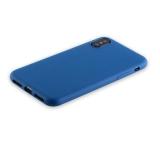 Силиконовый чехол - накладка для iPhone XS Anycase TPU A - 140049 (1.0 мм), цвет матовый синий