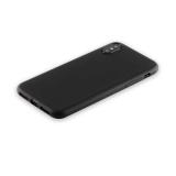 Силиконовый чехол - накладка для iPhone XS Anycase TPU A - 140048 (1.0 мм), цвет матовый черный