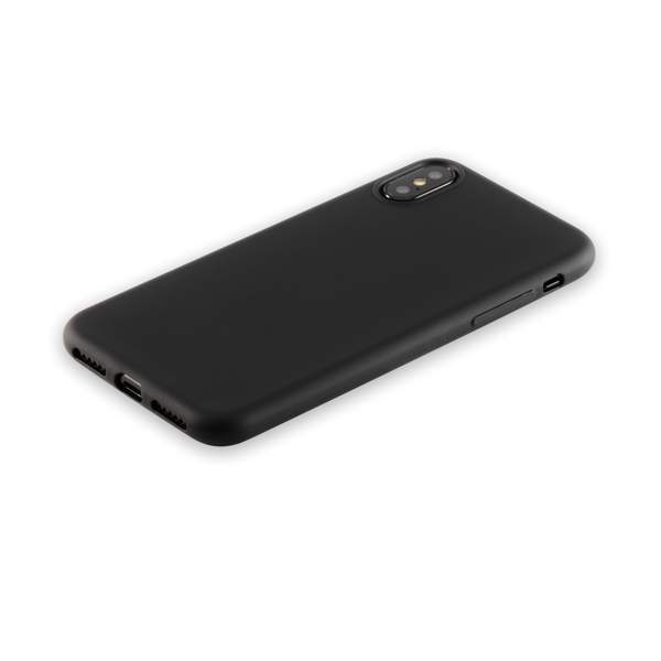 Чехол-накладка силикон Anycase TPU A-140048 для iPhone X (5.8) 1.0 мм матовый Черный