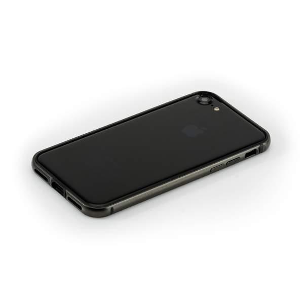 Бампер металлический G-Case Grand Series для Apple iPhone 7 (4.7) Черный
