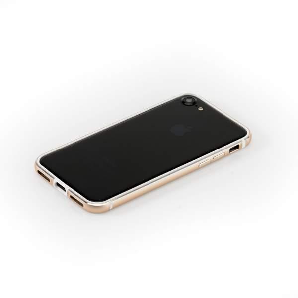 Бампер металлический G-Case Grand Series для Apple iPhone 7 (4.7) Золотистый
