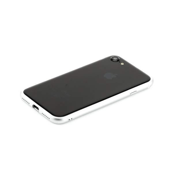 Бампер поликарбонат с силиконом Totu Evoque Series для Apple iPhone 8 (4.7) Серебристый