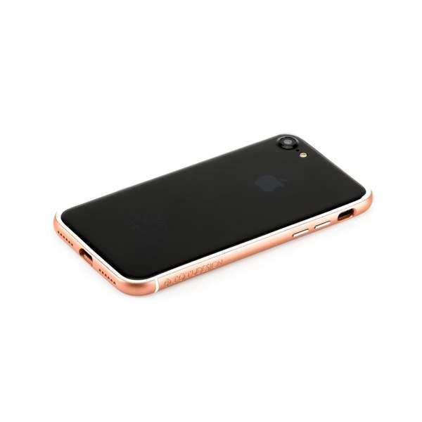 Бампер поликарбонат с силиконом Totu Evoque Series для Apple iPhone 7 (4.7) Розовое золото