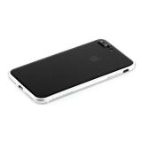 Пластиковый бампер для iPhone 8 Plus Totu Evoque Series, цвет серебристый