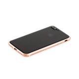 Пластиковый бампер для iPhone 7 Plus Totu Evoque Series, цвет розовое золото