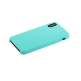 Чехол-накладка силиконовый Hoco Silicone Case для iPhone X (5.8) Лазурный