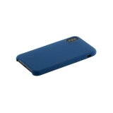 Чехол-накладка силиконовый Hoco Silicone Case для iPhone X (5.8) Синий