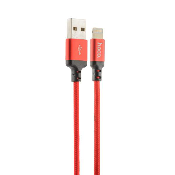 Lightning кабель USB X14 Times speed (2.0 м), цвет красный