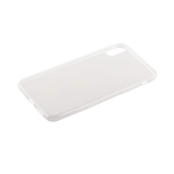 Чехол силиконовый для iPhone X (5.8) 1.0 мм уплотненный в техпаке (прозрачный)