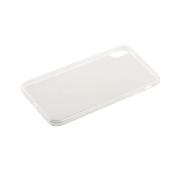 Чехол силиконовый для iPhone X (5.8) супертонкий в техпаке (прозрачный)