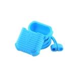 Чехол & гарнитура силиконовые COTEetCI для AirPods CS8108-BL Suit Голубой