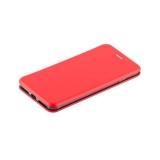 Кожаный чехол - книжка для iPhone 7 Plus Fashion Case Slim - Fit Red, цвет красный