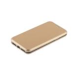 Кожаный чехол - книжка для iPhone X Fashion Case Slim - Fit Gold, цвет золотистый