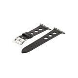Кожаный ремешок для Apple Watch (38 mm) COTEetCI W15 Fashion LEATHER с отверстиями (WH5220 - BK - 38), цвет черный