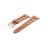 Кожаный ремешок для Apple Watch (38 mm) COTEetCI W15 Fashion LEATHER с отверстиями (WH5220 - KR - 38), цвет коричневый