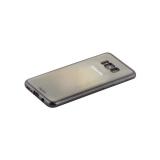 Чехол - накладка силикон Deppa Gel Plus Case D - 85308 для Samsung GALAXY S8+ (SM - G955) 0.9мм Черный матовый борт