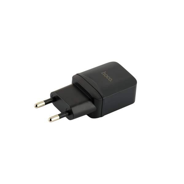 Сетевое зарядное устройство Hoco C22A Little superior charger (USB: 5V max 1A), цвет черный