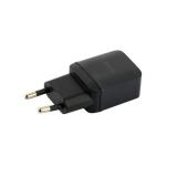 Сетевое зарядное устройство с кабелем Lightning Hoco C22A Little superior charger (USB: 5V max 1A), цвет черный
