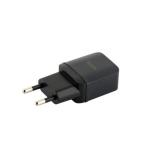 Сетевое зарядное устройство с кабелем MicroUSB Hoco C22A Little superior charger (USB: 5V max 1A), цвет черный