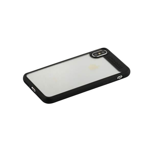 Накладка Baseus ARAPIPHX-SB01 пластиковая Suthin Case для iPhone X (5.8) Прозрачная с силиконым черным бортом