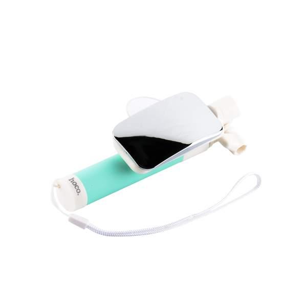 "Монопод для селфи HOCO K2 Magic Mirror Selfie stick (0.60 м) 3.5""-6"" Green Зеленый"