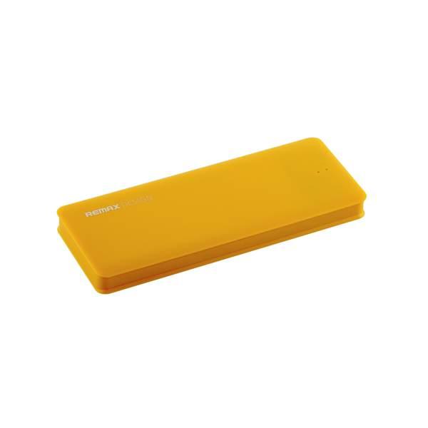 Внешний аккумулятор Remax Candy power bank (USB: 5V - 1.5A) - 5000 mAh Yellow, цвет желтый