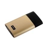 Внешний аккумулятор Remax RPP 27 Perfume power bank (2 USB: 5V - 2.1A) - 10000 mAh Gold, цвет золотистый