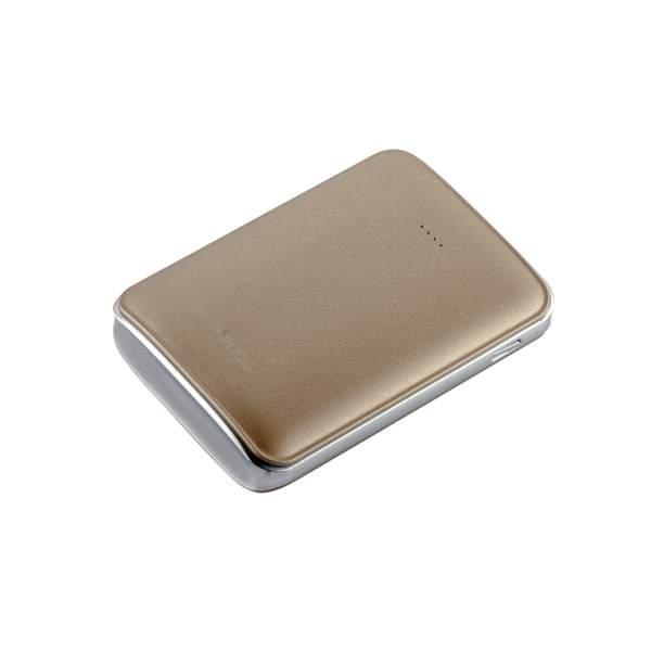 Внешний аккумулятор Remax PPL 22 Mink power bank (2 USB: 5V - 2.0A) - 10000 mAh Gold, цвет золотистый