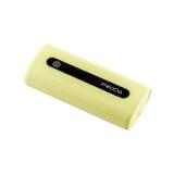 Внешний аккумулятор Remax PPL 15 Proda E5 power bank (USB: 5V - 1.0A) - 5000 mAh Yellow, цвет желтый