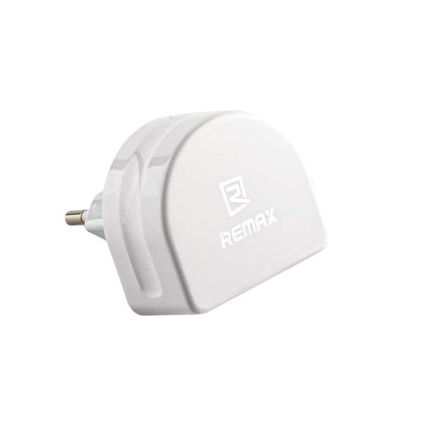 Адаптер питания Remax RP - U22 RMT7188 Moon Charger Plug (2USB: 5V 1.0A & 5V 2.1A) Белый