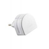 Сетевое зарядное устройство Remax RP - U31 Moon Charger Plug (3USB: 5V 1.0A / 1.0A / 2.0A), цвет белый