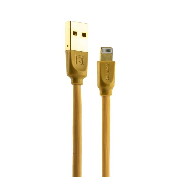 Lightning кабель USB Remax Radiance Cable fast charging (1.0 м), цвет золотистый