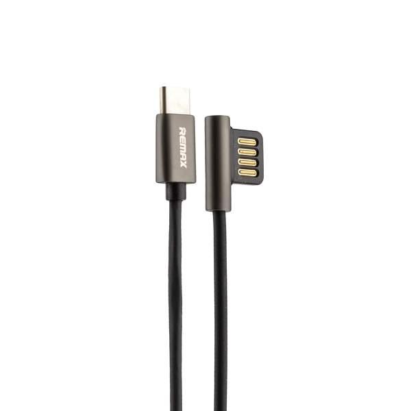 USB дата - кабель Remax Emperor Series Cable (RC - 054a) Type-C 2.1A круглый (1.0 м) Черный