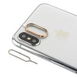 Защитное кольцо камеры Aluminium & игла для извлечения сим-держателя COTEetCI (GS8105-CE) для iPhone XS/ X Золотистый