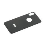 Стекло защитное 6D для iPhone XS/ X (5.8) заднее Black