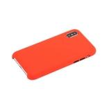 Чехол-накладка силиконовый COTEetCI Mix Buttons Liquid Silicon Case для iPhone X (5.8) CS8013-RD Красный