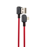 USB дата-кабель Hoco X19 Enjoy Lightning (1.0 м) Red&Black
