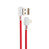 USB дата-кабель Hoco X19 Enjoy Lightning (1.0 м) Red&White