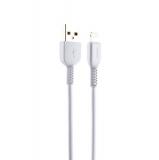 USB дата-кабель Hoco X20 Flash Lightning (1.0 м) Белый