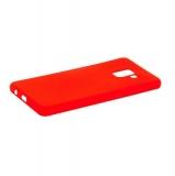 Чехол-накладка силикон Anycase TPU A-140247 для Samsung A730 Galaxy A8 Plus (2018) 1.0мм матовый Красный