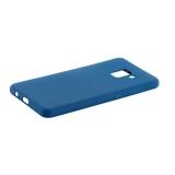 Чехол-накладка силикон Anycase TPU A-140246 для Samsung A730 Galaxy A8 Plus (2018) 1.0мм матовый Синий