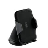 Автомобильное беспроводное Qi зарядное устройство Deppa Crab Qi Fast Charge D-55155 для 3.5-5.9 (5-9V/ 1.5A 5-10W) Черный