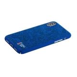 Чехол-накладка PC Deppa D-103944 ЧМ по футболу FIFA™ Official Pattern для iPhone X (5.8) Синий