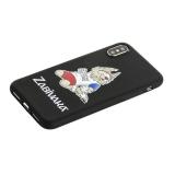 Чехол-накладка TPU Deppa D-103948 ЧМ по футболу FIFA™ Zabivaka 3 для iPhone XS (5.8)