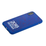 Чехол-накладка TPU Deppa D-103951 ЧМ по футболу FIFA™ Official Logotype для iPhone XS (5.8) Синий