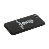 Чехол-накладка TPU Deppa D-103902 ЧМ по футболу FIFA™ Official Emblem для iPhone 8 Белый