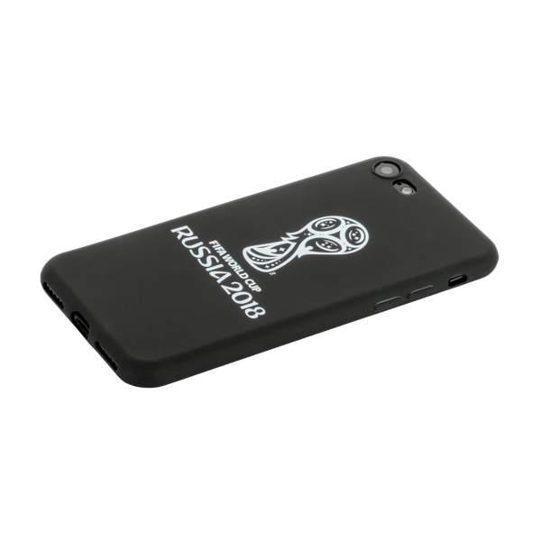 Чехол-накладка TPU Deppa D-103902 ЧМ по футболу FIFA™ Official Emblem для iPhone 7 Белый